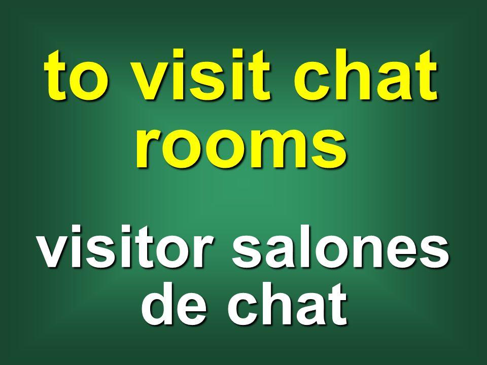 visitor salones de chat