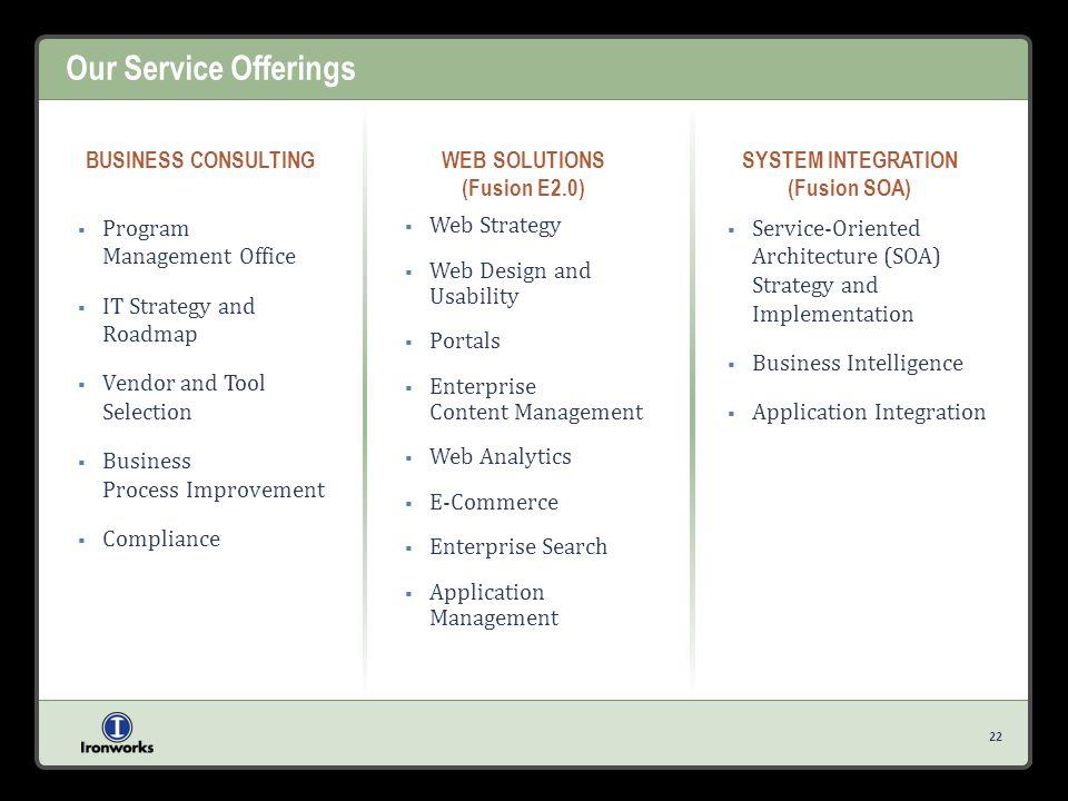 WEB SOLUTIONS (Fusion E2.0)