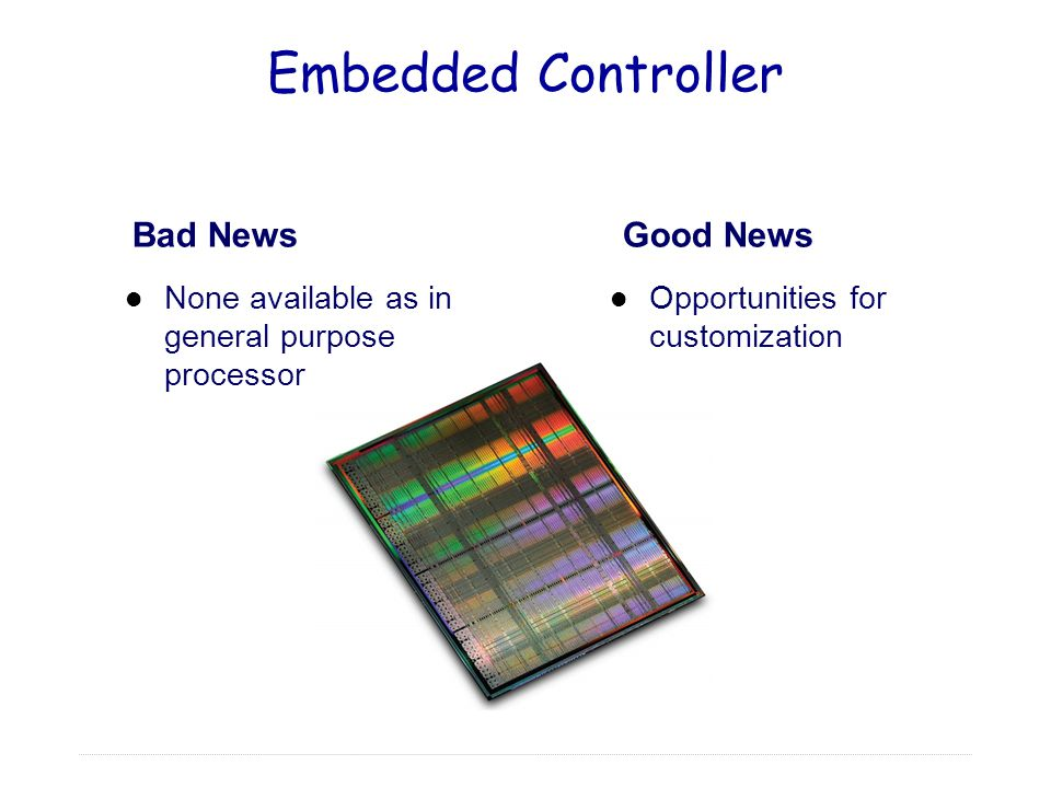 Embedded Controller Bad News Good News