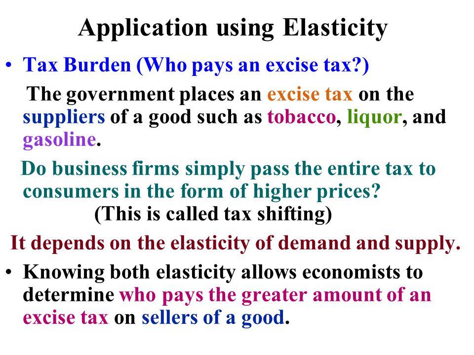Application using Elasticity