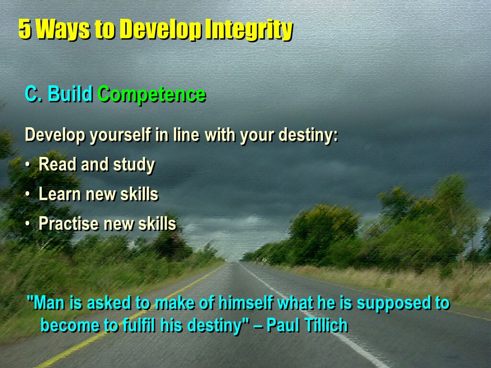 5 Ways to Develop Integrity