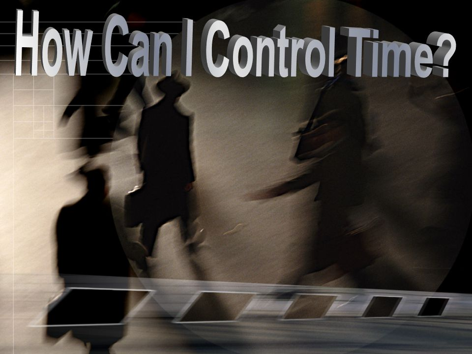 How Can I Control Time