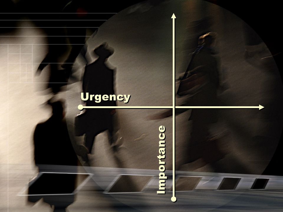 Importance Urgency