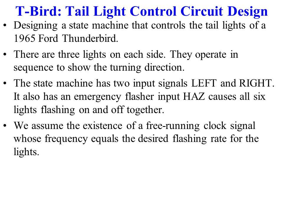 T-Bird: Tail Light Control Circuit Design