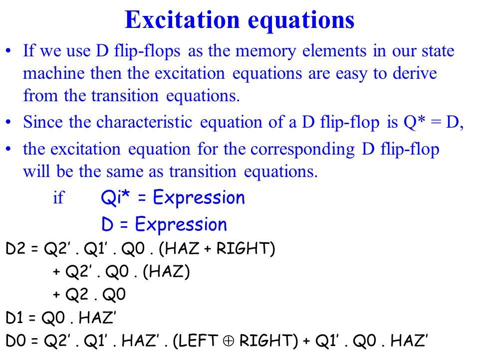 Excitation equations
