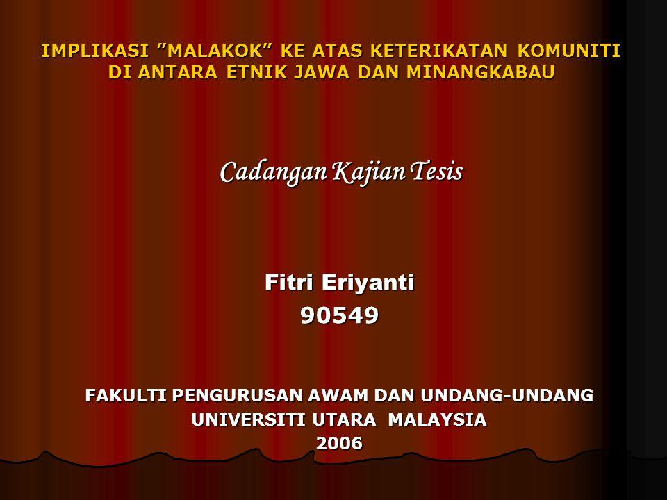 FAKULTI PENGURUSAN AWAM DAN UNDANG-UNDANG UNIVERSITI UTARA MALAYSIA