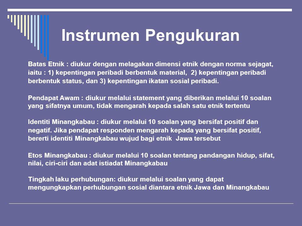 Instrumen Pengukuran