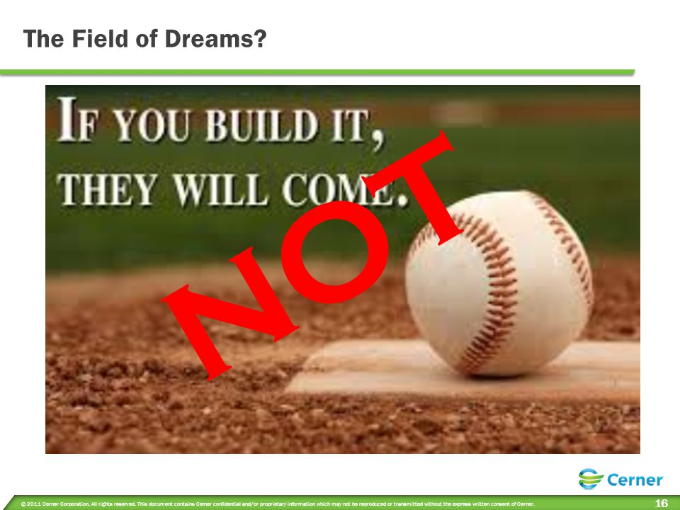 NOT The Field of Dreams MELANIE