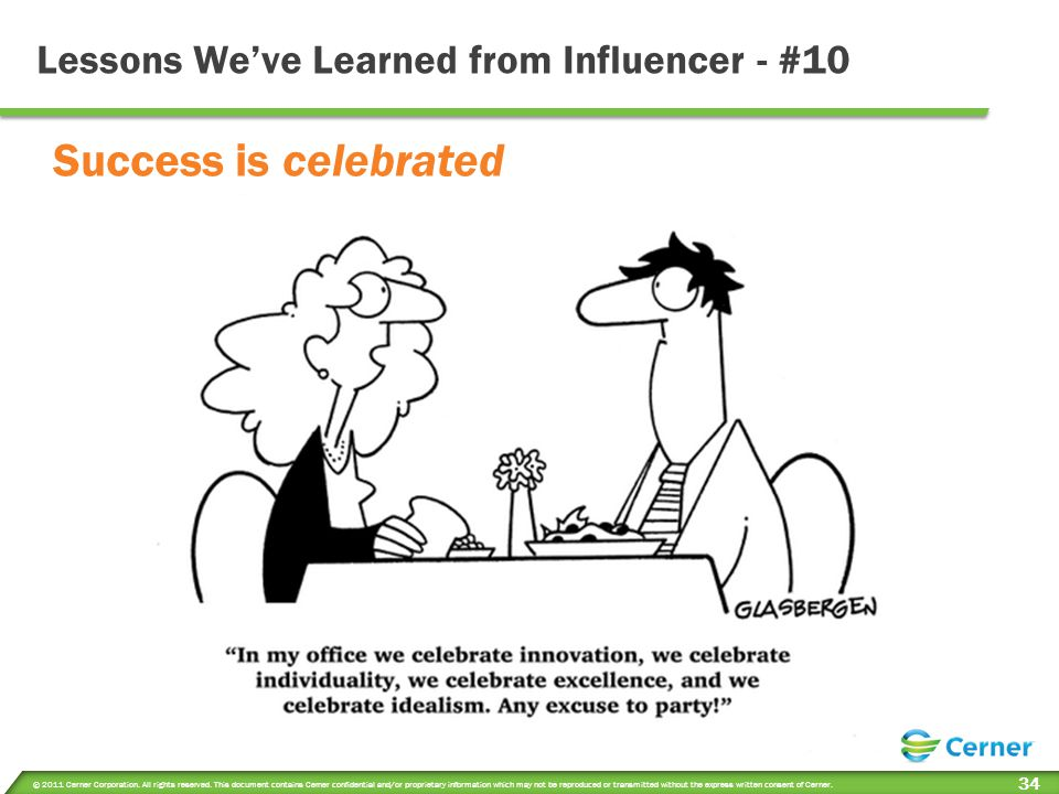 Lessons We've Learned from Influencer - #10