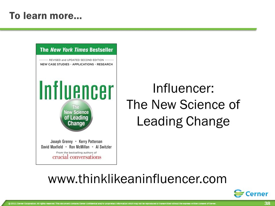 The New Science of Leading Change