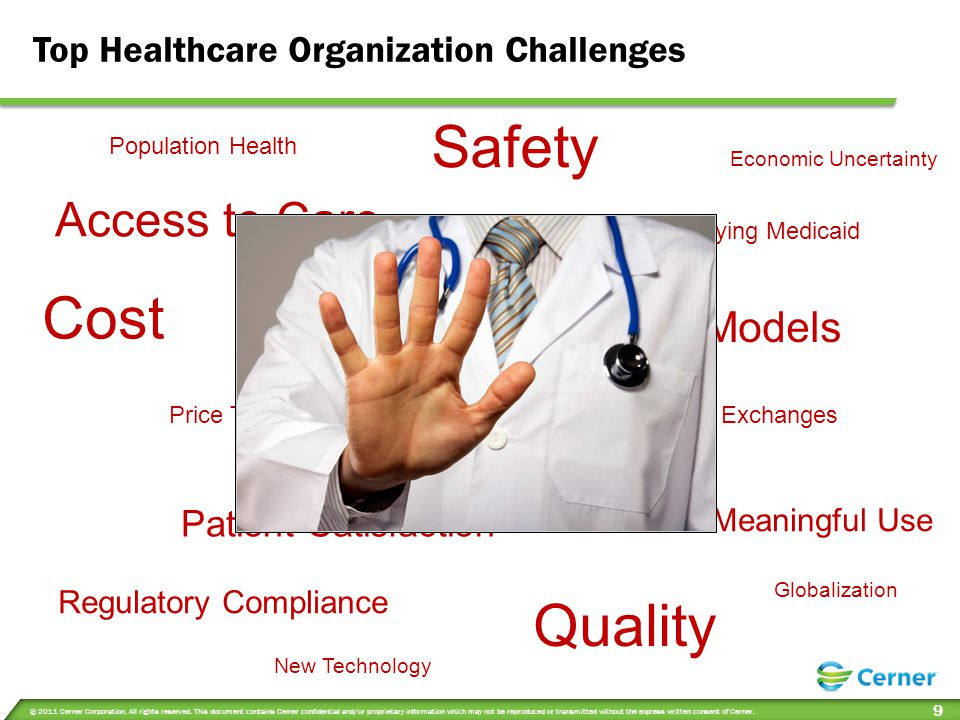 Safety Cost Quality Access to Care Evolving Business Models