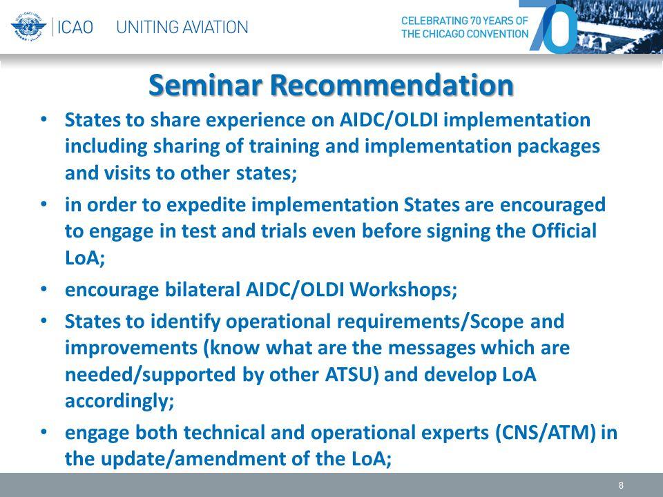 Seminar Recommendation
