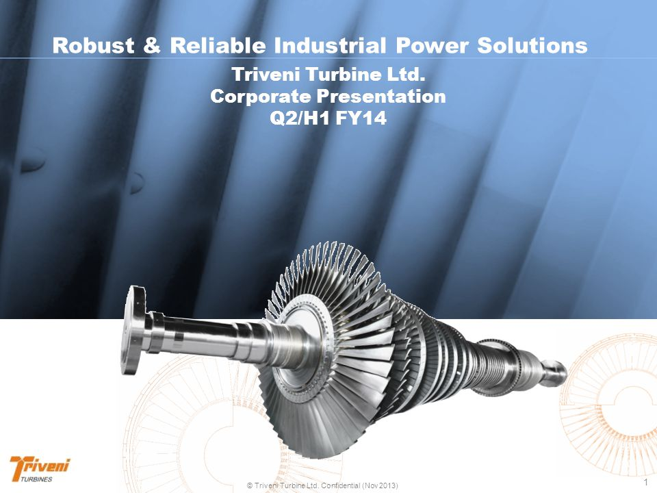 Robust & Reliable Industrial Power Solutions Corporate Presentation