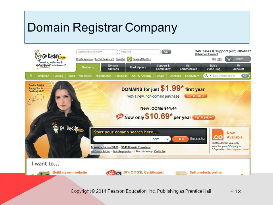 Domain Registrar Company