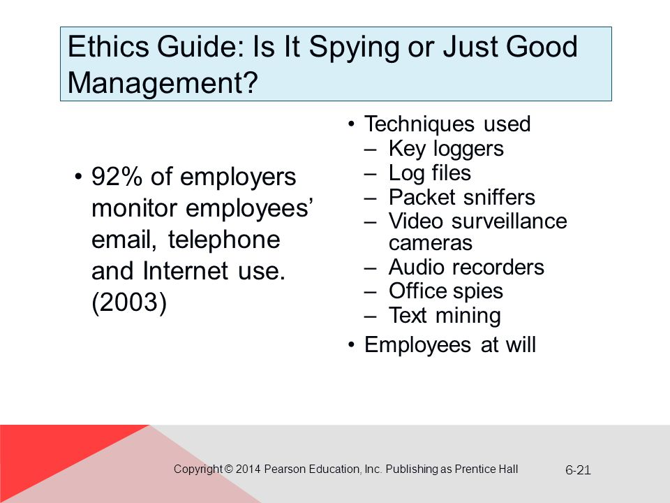 Ethics Guide: Is It Spying or Just Good Management