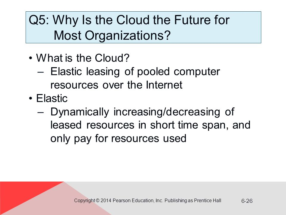 Q5: Why Is the Cloud the Future for Most Organizations