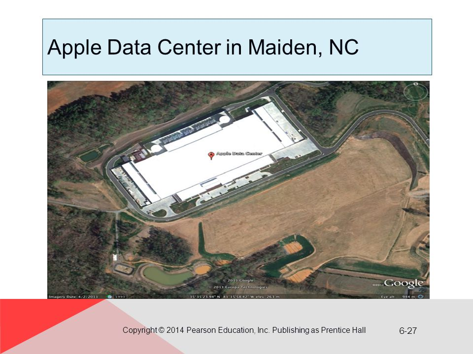 Apple Data Center in Maiden, NC