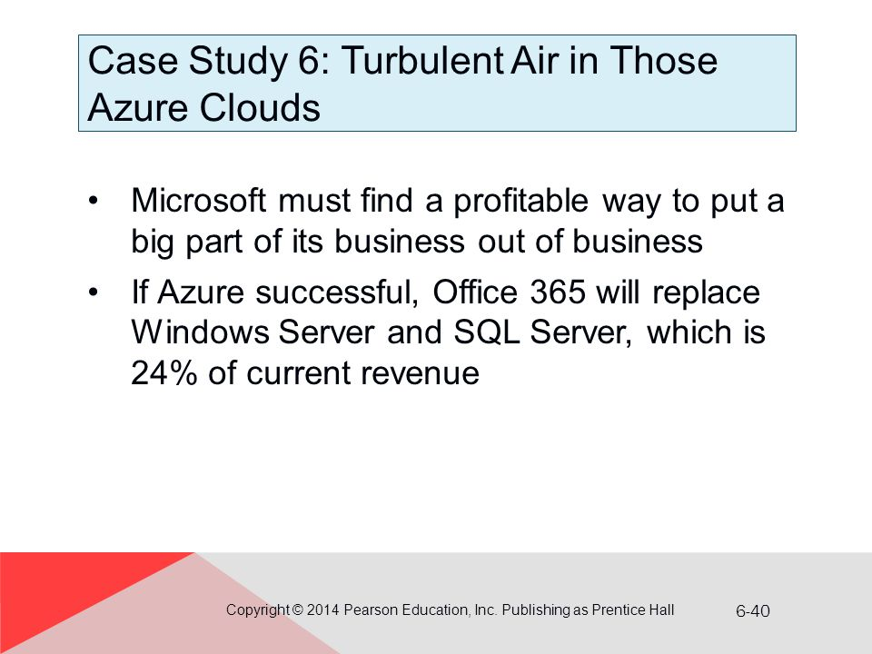Case Study 6: Turbulent Air in Those Azure Clouds