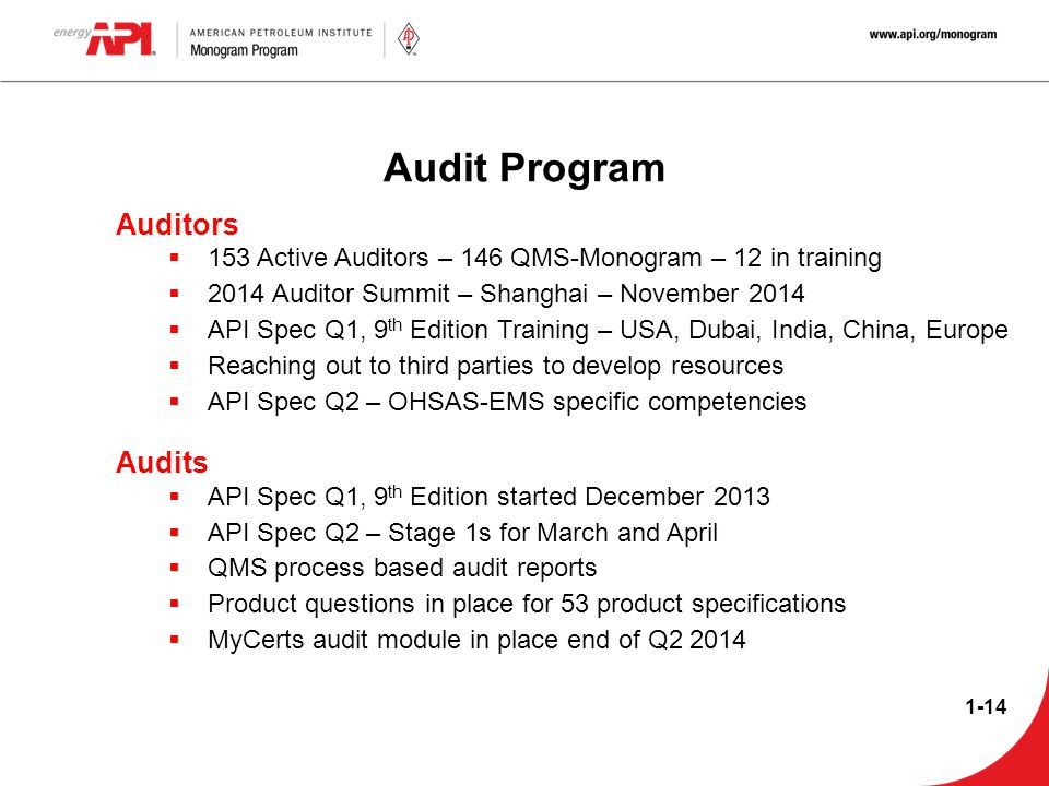Audit Program Auditors Audits