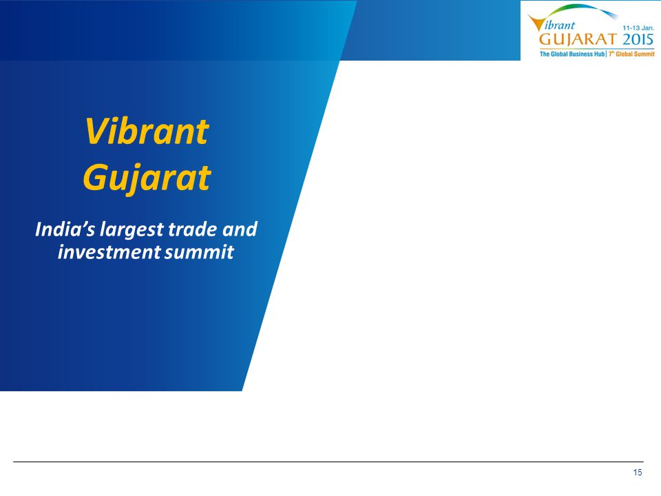 India's largest trade and investment summit