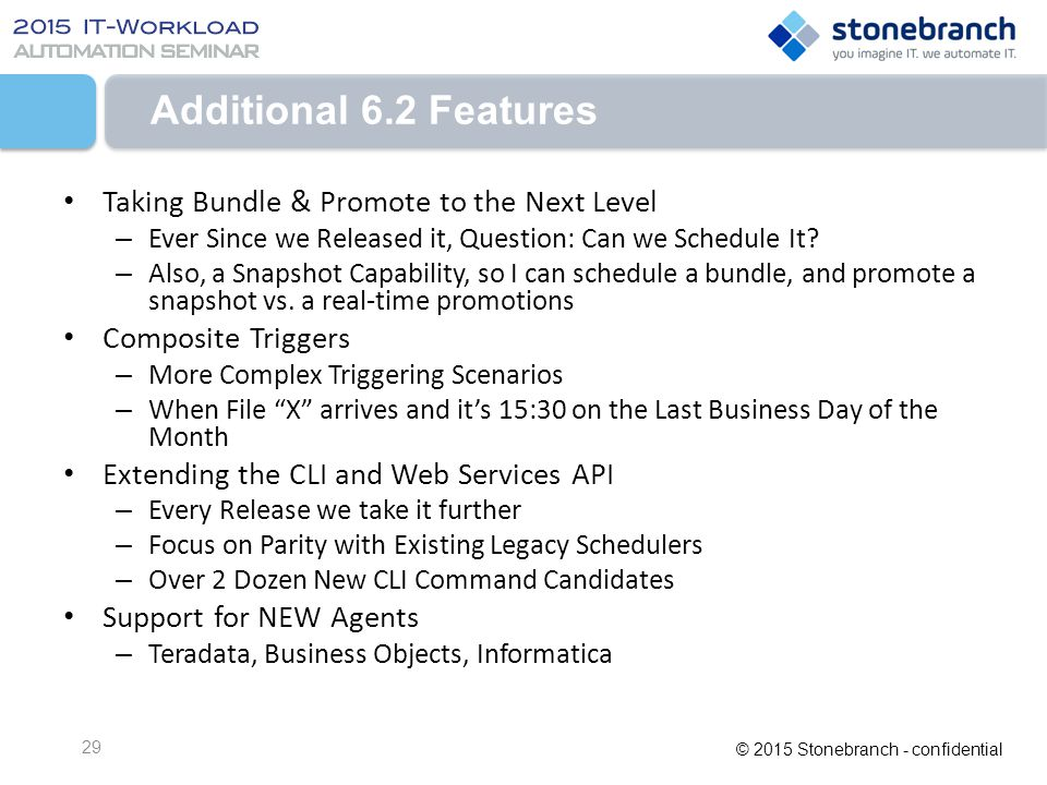 Additional 6.2 Features Taking Bundle & Promote to the Next Level