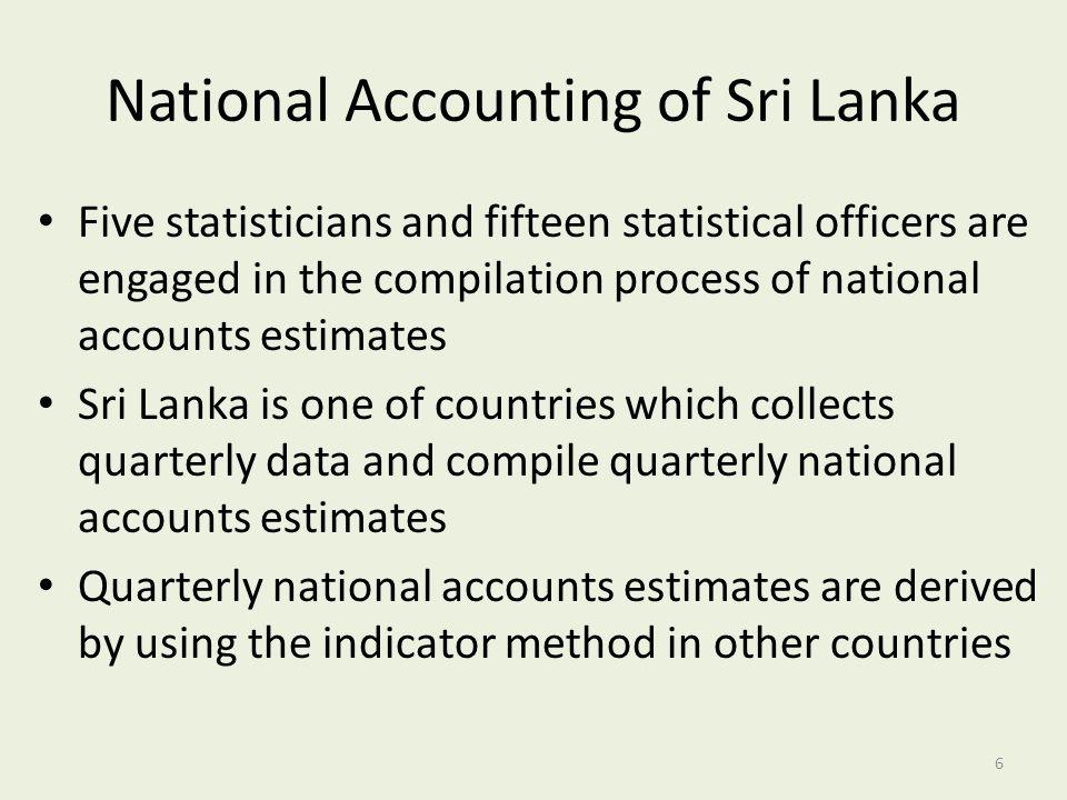 National Accounting of Sri Lanka
