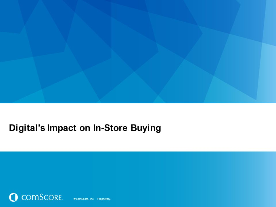 Digital's Impact on In-Store Buying