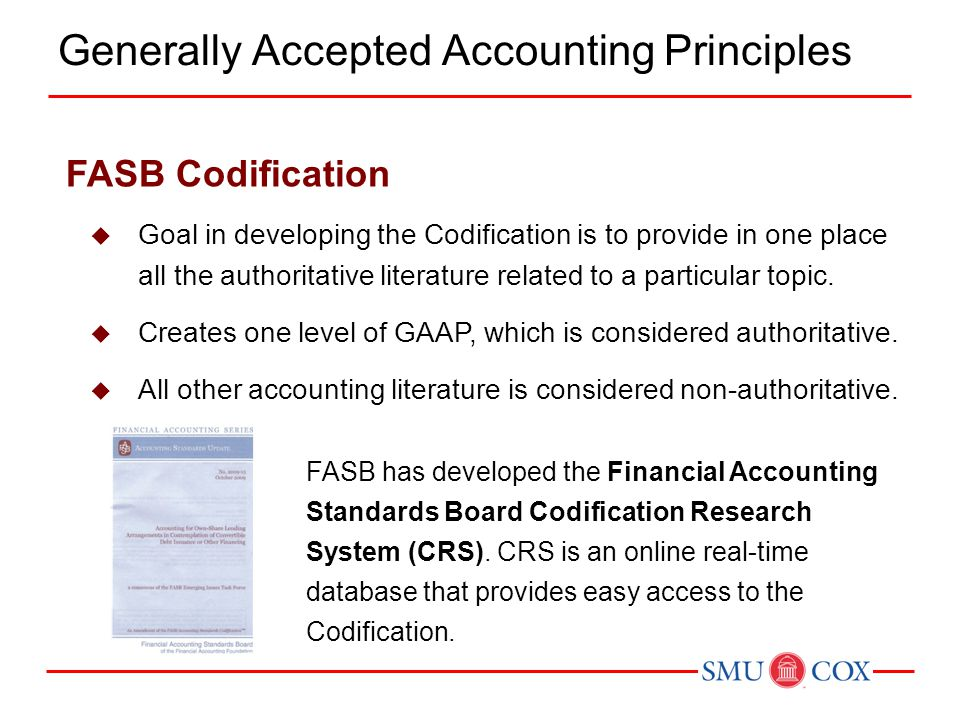 generally accepted accounting principles and collection What are 'generally accepted accounting principles - gaap' generally accepted accounting principles (gaap) refer to a common set of accounting principles, standards and procedures that companies .