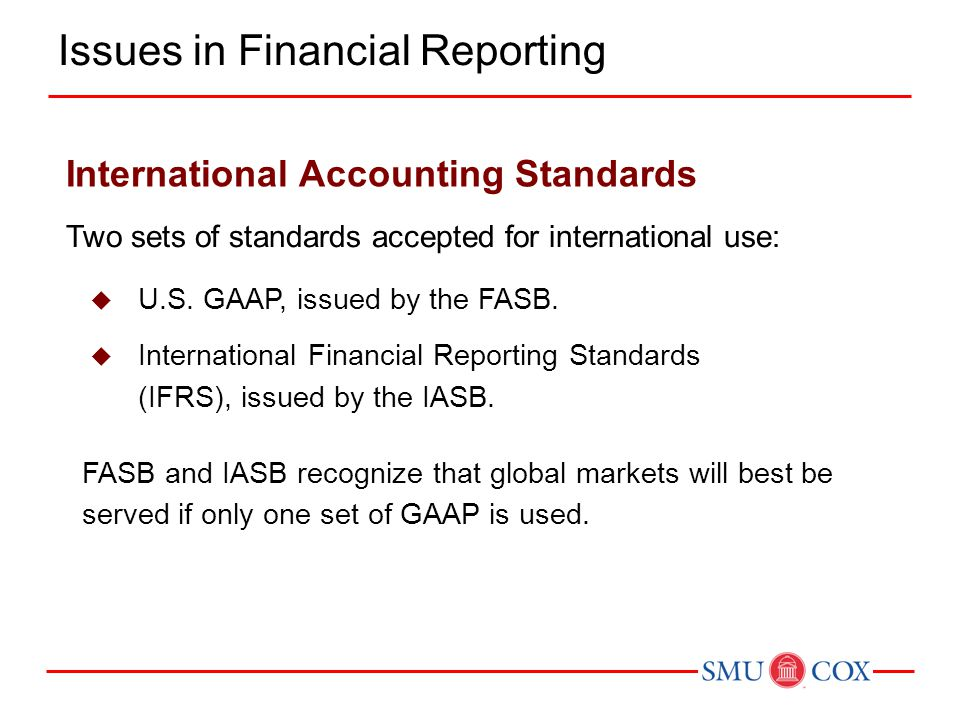 Issues in Financial Reporting