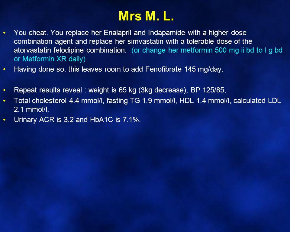 Mrs M. L.