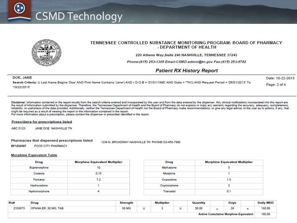 CSMD Technology
