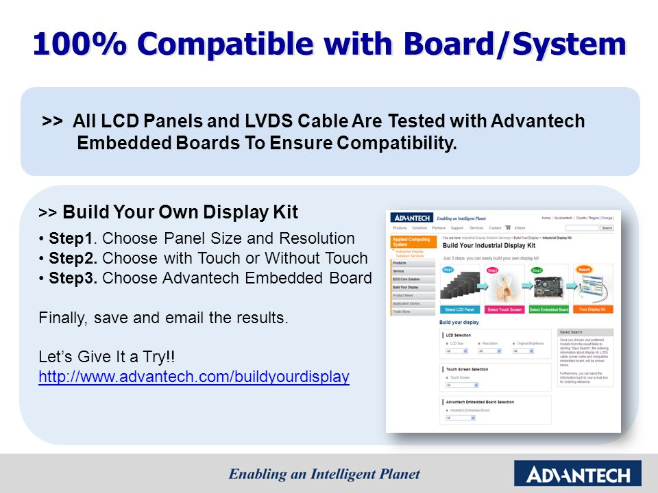 100% Compatible with Board/System
