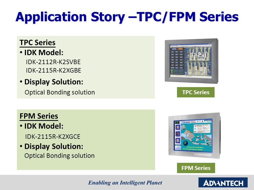 Application Story –TPC/FPM Series