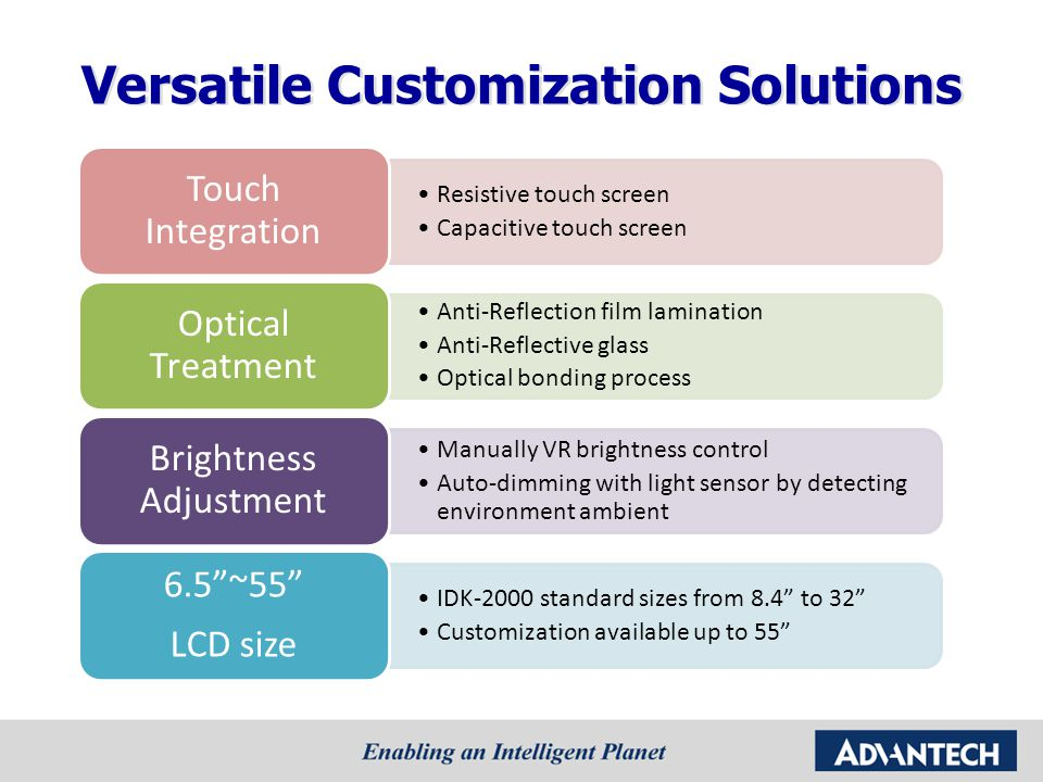 Versatile Customization Solutions