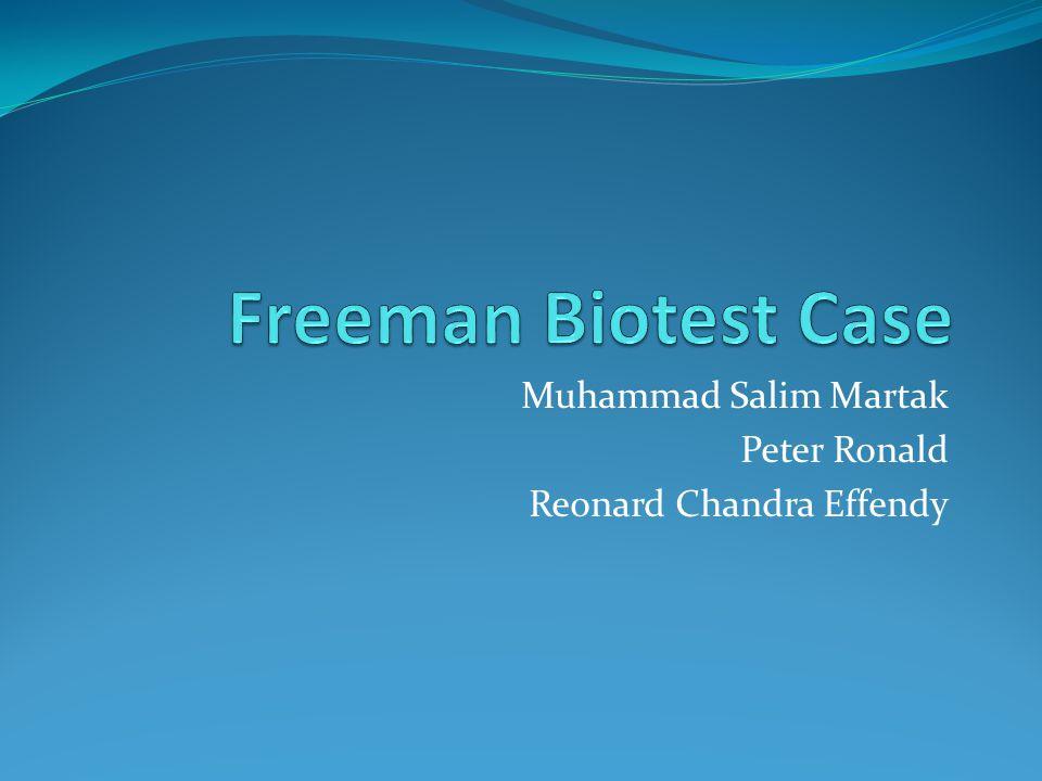 Muhammad Salim Martak Peter Ronald Reonard Chandra Effendy