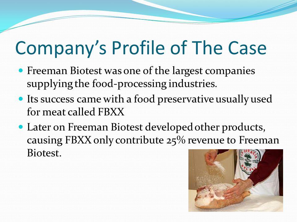 Company's Profile of The Case