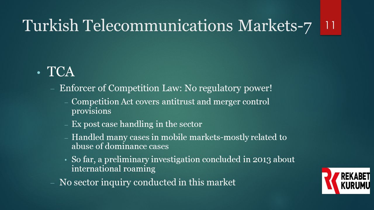 Turkish Telecommunications Markets-7