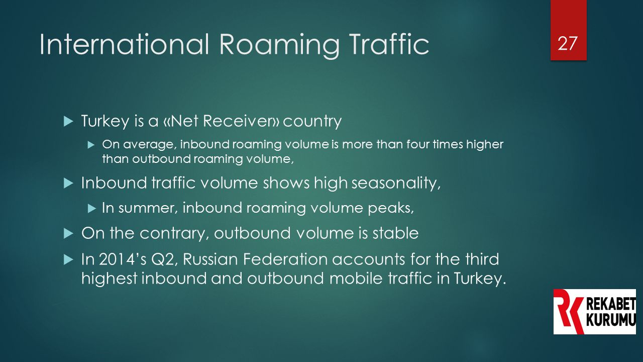 International Roaming Traffic