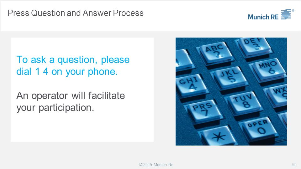 Press Question and Answer Process