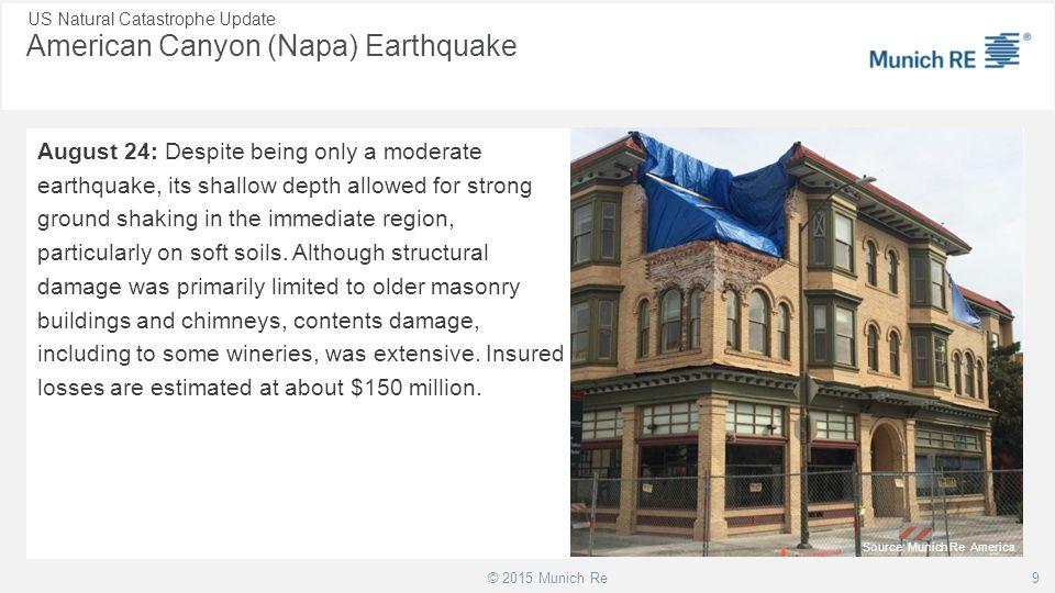 American Canyon (Napa) Earthquake