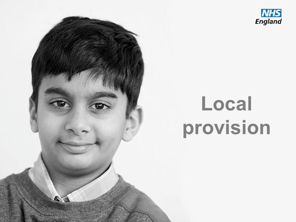 Local provision