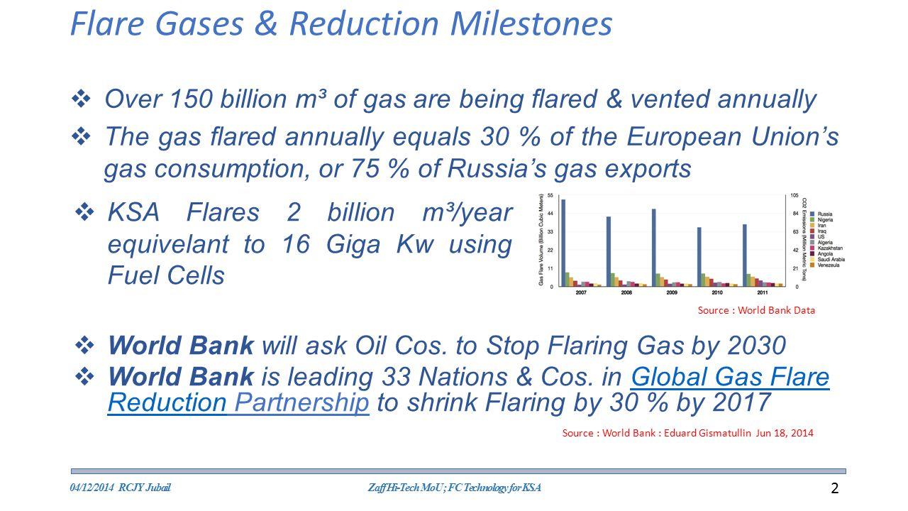 Flare Gases & Reduction Milestones