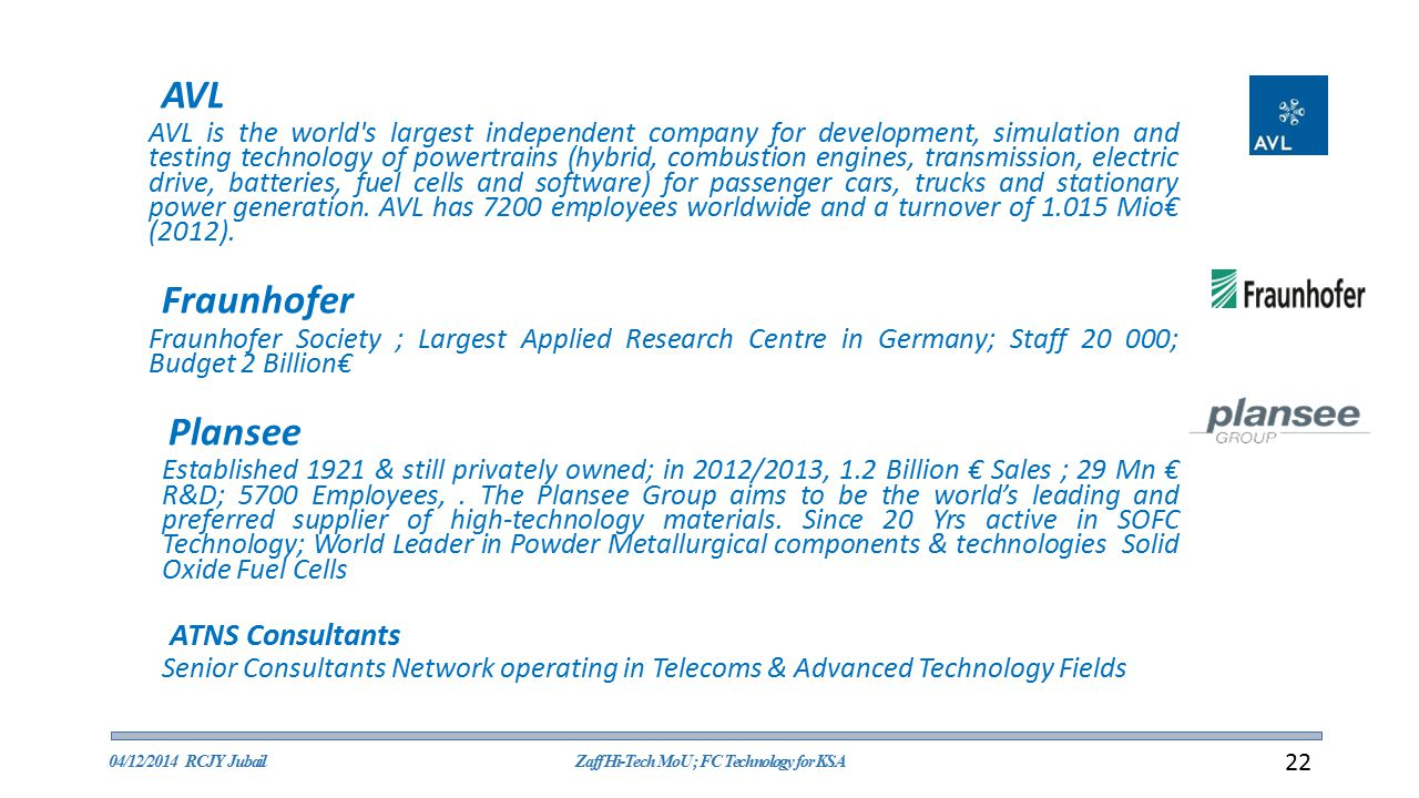Zaff Hi-Tech MoU ; FC Technology for KSA