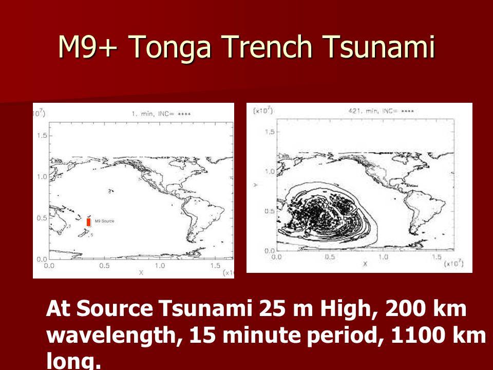 M9+ Tonga Trench Tsunami