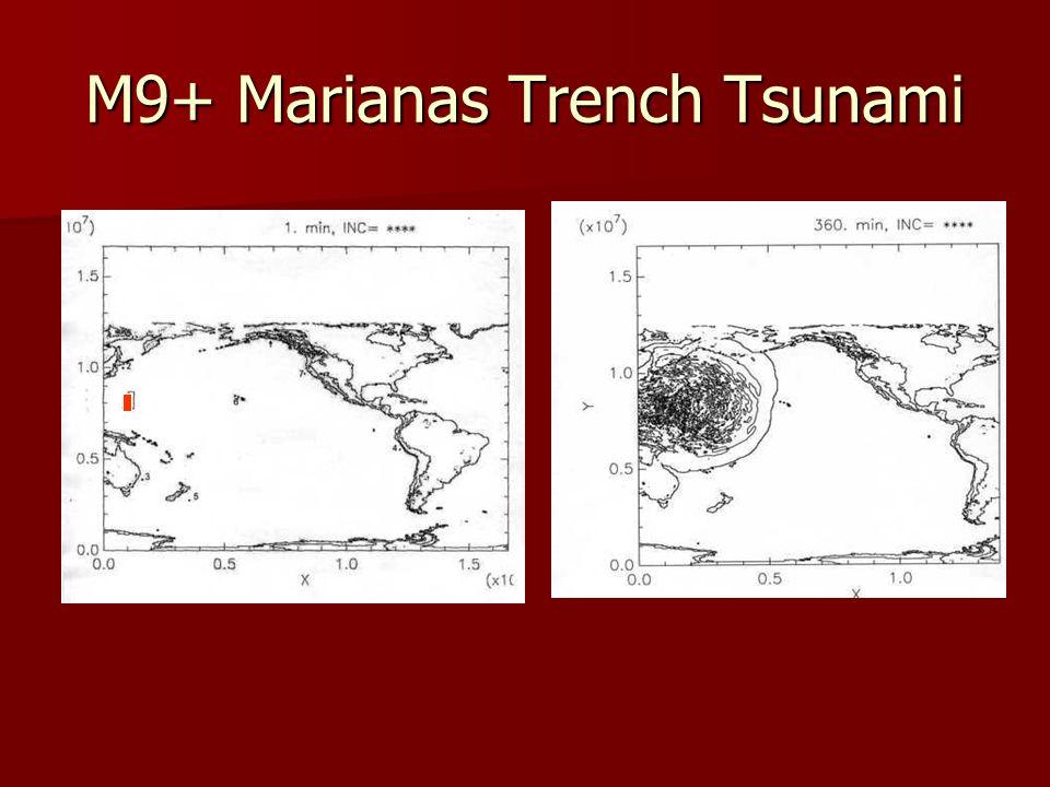M9+ Marianas Trench Tsunami