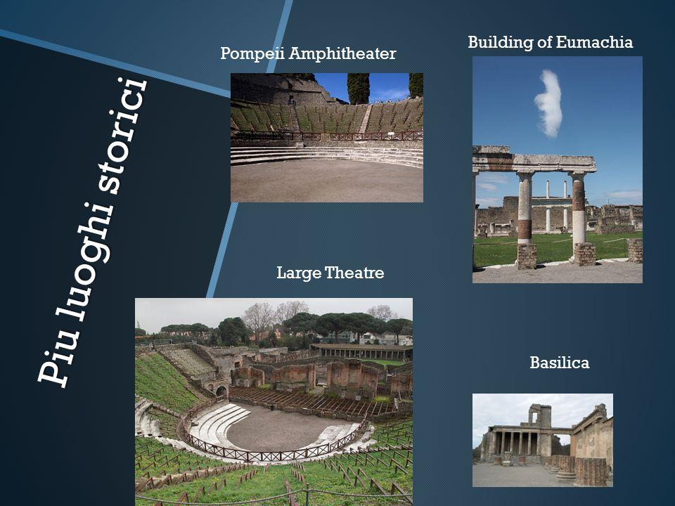 Piu luoghi storici Building of Eumachia Pompeii Amphitheater