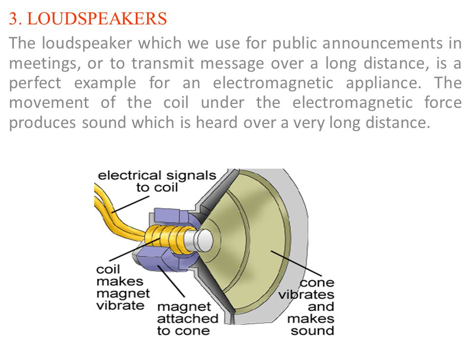 3. LOUDSPEAKERS