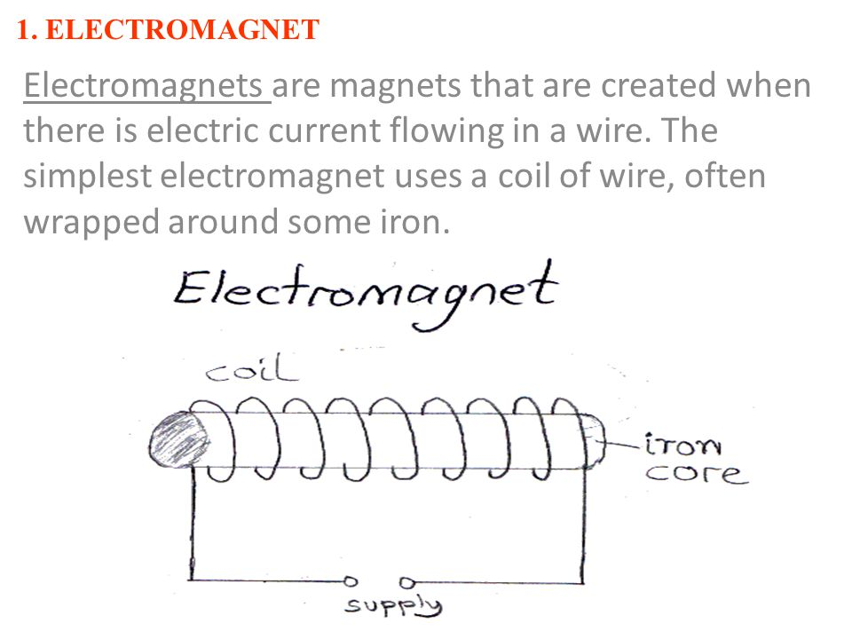 1. ELECTROMAGNET