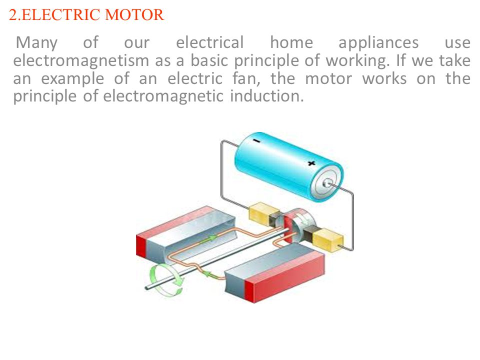2.ELECTRIC MOTOR