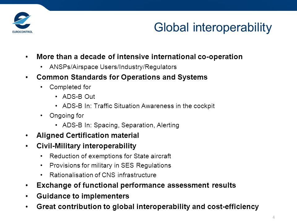 Global interoperability